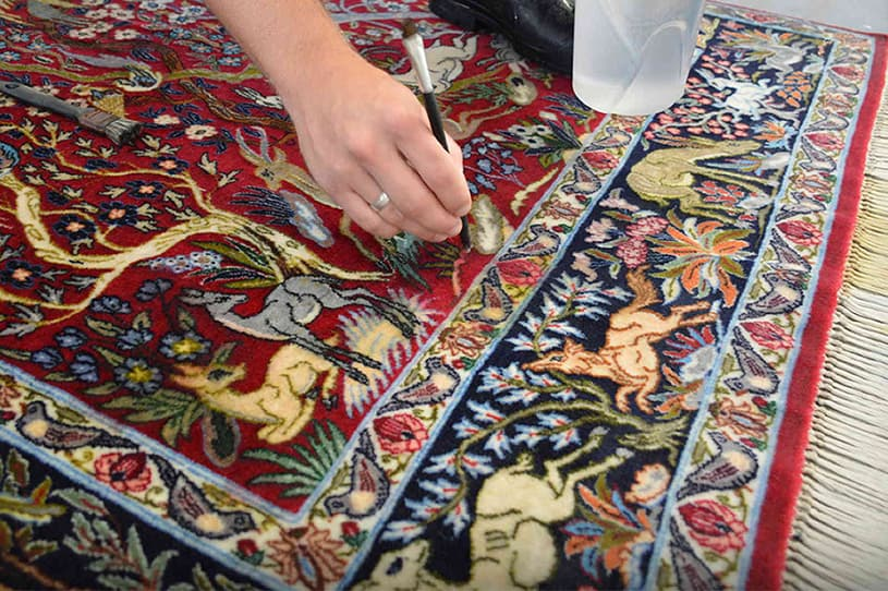 color-restoration-area-rug-painting