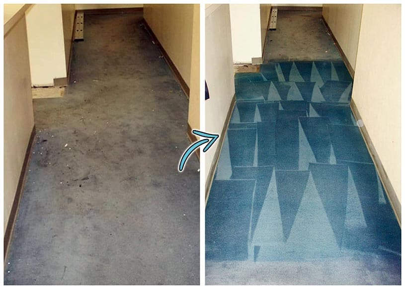 color-restoring-hallway-carpet-before-after